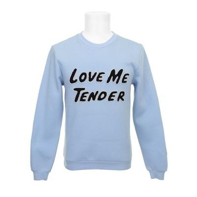 Elvis love me tender sweatshirt