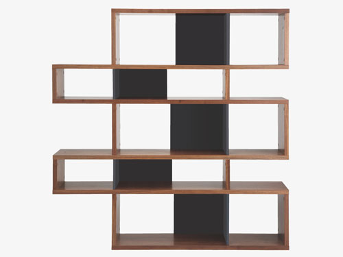 Midcentury Style Antonn Wall Shelving Unit Or Room Divider