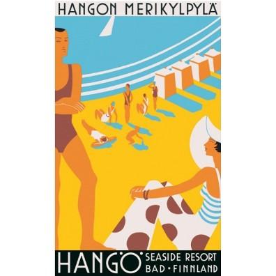 Hanko-hango-seaside-resort-vintage-travel-poster