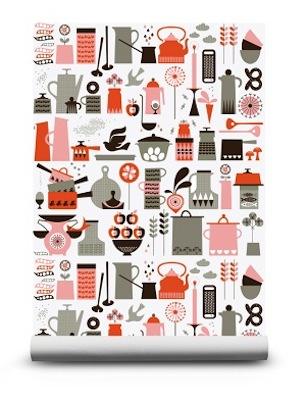 Kaffe wallpaper isak