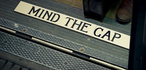Mind the gap titles