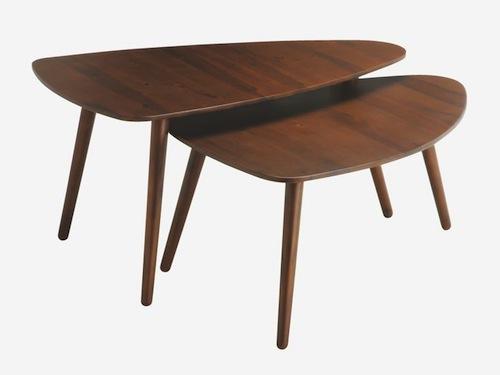 retro joyce coffee tables from habitat - retro to go