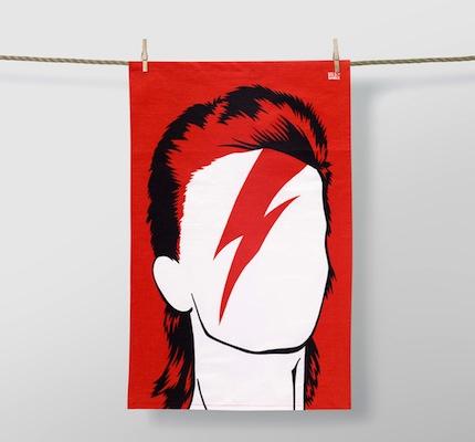 Ziggy tea towel