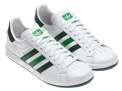Adidas Grand Prix trainers reissued in white and green - Retro to Go 9b0a667a5