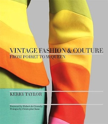 Vintage fashion and couture cover