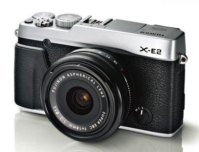 contender for the title of coolest retro camera, the Fujifilm X-E2