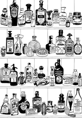 Dupenny potions wallpaper
