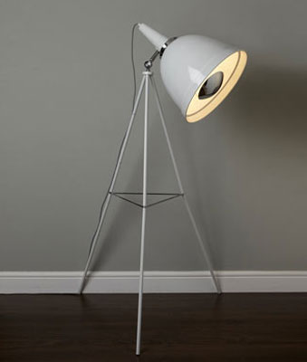 Vintage style leo floor lamp at bhs retro to go if you like the idea of your place looking like an old photographic studio then this leo floor lamp at bhs is ideal for you aloadofball Gallery