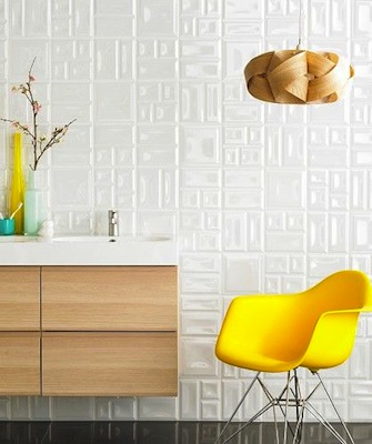 Deco pearl tiles