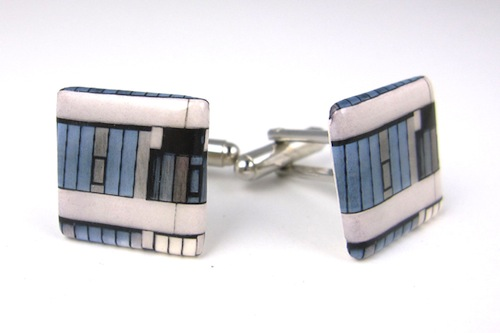Leeds University (Chancellor's Court) cufflinks