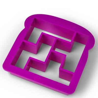 Tetris crust cutter