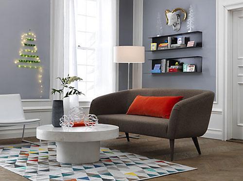 Midcentury Style Rue Apartment Sofa At Cb2 Retro To Go