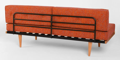 Minimal Modernism Mid Century Sofa At Urban Outfitters Retro To Go