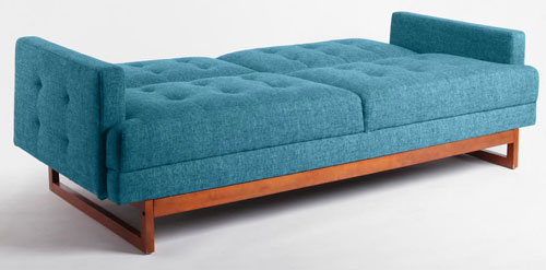 1960sinspired cool Either Or sofa bed at Urban Outfitters