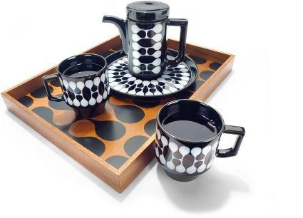 Black teapot set