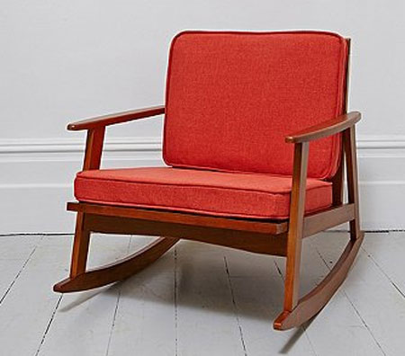 Mid Century Rocking Chair At Urban Outfitters Retro To Go