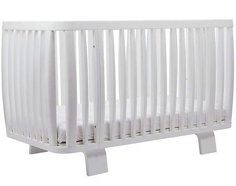 Bloom cotbed white