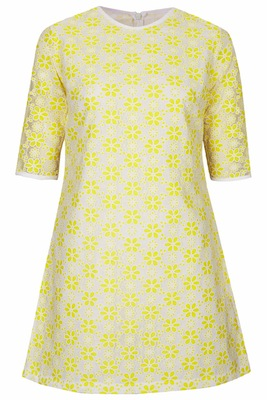 Jones and jones yellow may dress
