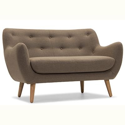 Zara sofa in brown