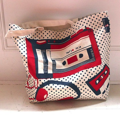 Walkman canvas bag