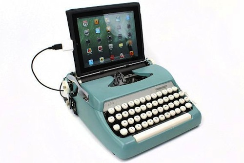Typewriter usb