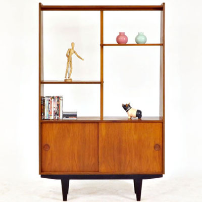 ebay watch 1960s midcentury teak room divider retro to go