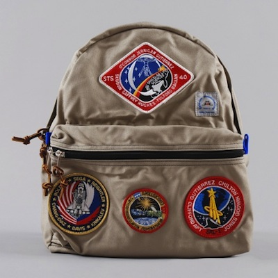 Epperson bag nasa patch brown
