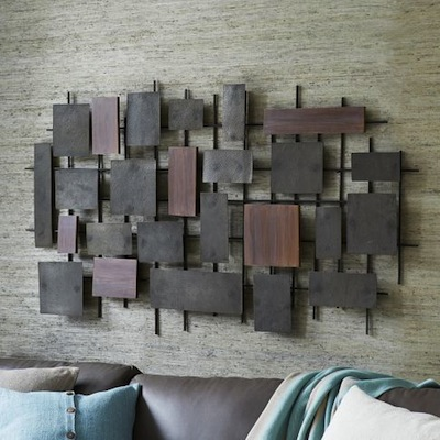 West Elm midcentury wall art