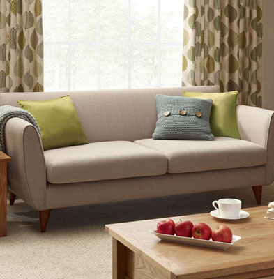 If you prefer a more subtle retro design when it comes to a sofa (as opposed to an OTT style statement in the corner of the room) then you might like this ...