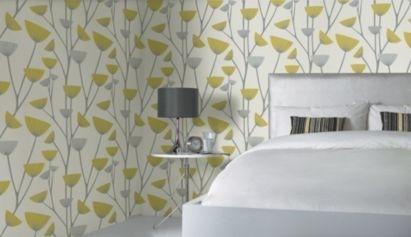 Dandelion wallpaper room