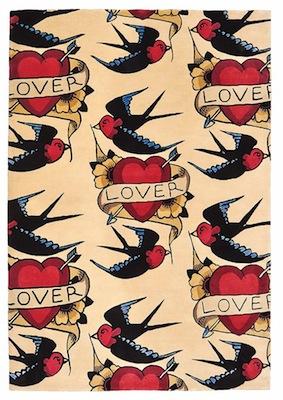 Lover rug