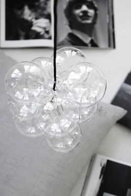 Diy bubble light 1960s