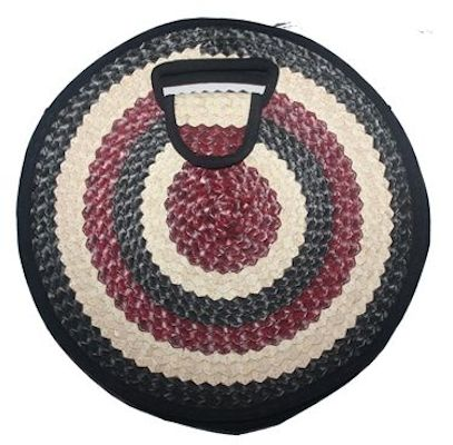 Circular bag front