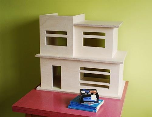 Modernist dollshouse