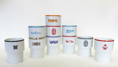 Polish bar mugs