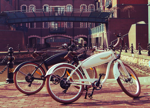 Ariel Rider Vintage Style Electric Bicycles Retro To Go