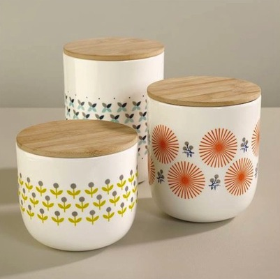 Mr and Mrs Clynk pots & Retro kitchenware by Mr u0026 Mrs Clynk from Atomic Bazaar - Retro to Go