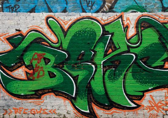 Switched On Set Street Life Graffiti Wallpaper By Watts London