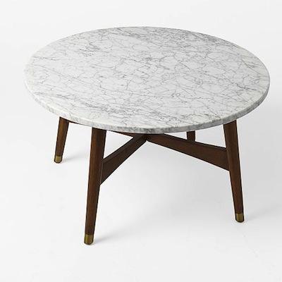 West elm table plain