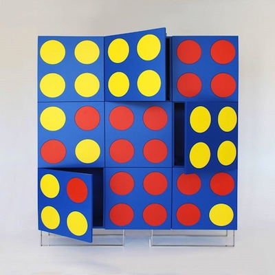 Connect 4 cabinet front