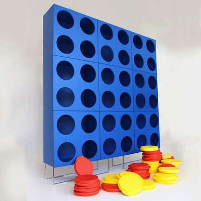 Connect4cabinet empty