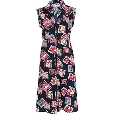 Souvenir print dress chelsea girl