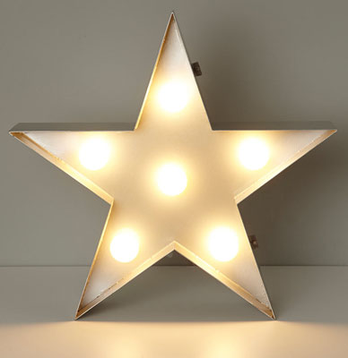 Arrow And Star Metal Table Lamps At Bhs