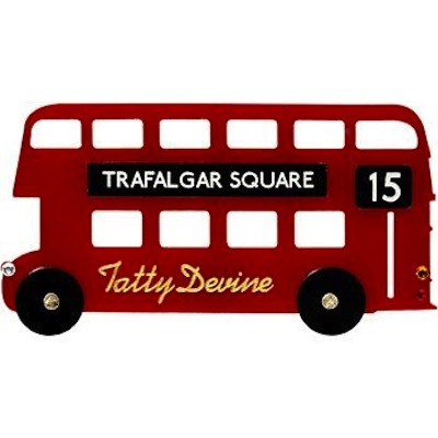 Tatty devine routemaster brooch