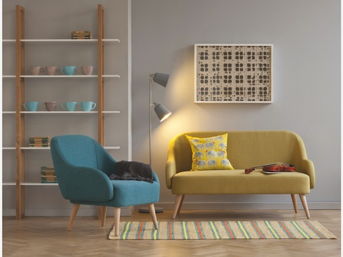 Momo sofa and armchair