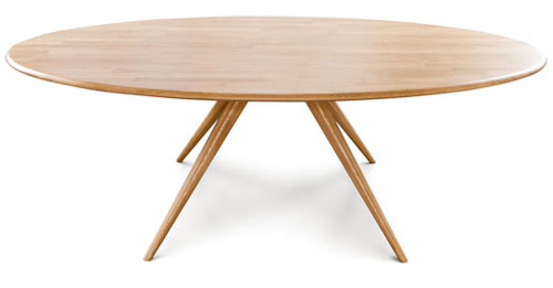 products via the made website but there are even more at the website of steuart padwick including this very cool darcey oval dining table