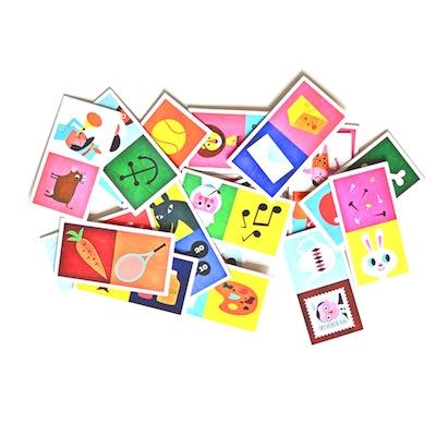 Domino-matching-game-