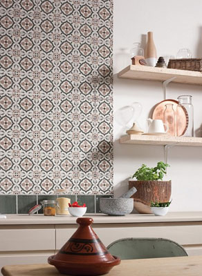 1970s Style Tangier Wall Tiles At Topps Tiles Retro To Go