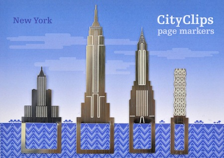 New York page markers