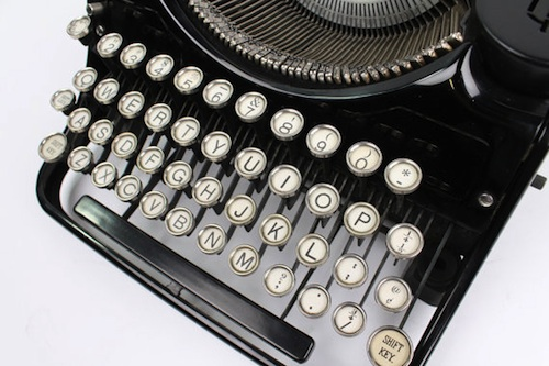 Antique typewriter usb